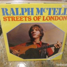 Discos de vinilo: CAJJ146 LP FOLK UK 75 RALPH MC TELL THE STREETS OF LONDON MUY BUEN ESTADO GENERAL. Lote 294493123