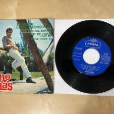 """Discos de vinilo: BRUNO LOMAS - ES MEJOR DEJARLO COMO ESTA +3 (EP) - SINGLE 7"""" SPAIN 1966. Lote 294493668"""