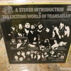 Discos de vinilo: CAJJ146 LP FOLK THE EXCITING WORLD OF TRASATLANTIC BUEN ESTADO. Lote 294493693