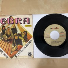 """Discos de vinilo: ZEBRA - THIS IS A HAPPY SONG / IT'S ALL BEEN DREAM - SINGLE 7"""" SPAIN 1972 PROMO. Lote 294494518"""