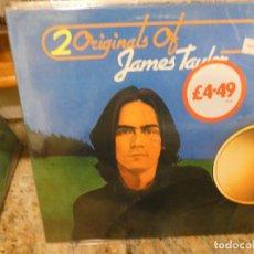 Discos de vinilo: CAJJ146 DOBLE LP FOLK UK 70S 2 ORIGINALS OF JAMES TAYLOR MUY BUEN ESTADO DE CONSERVACION. Lote 294495933