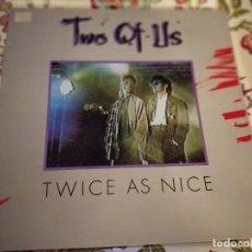 Discos de vinilo: TWO OF US – TWICE AS NICE SELLO: MAX MUSIC – LP 160, (LP),NUEVO. MINT / NEAR MINT. Lote 294495948