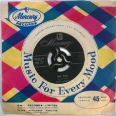 Discos de vinilo: LOUIS JORDAN. BIG BESS/ CAT SCRATCHIN. MERCURY, UK 1956 SINGLE. Lote 294496543