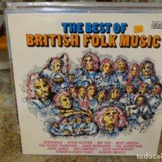 Discos de vinilo: CAJJ146 LP CONTOUR UK 70S THE BEST OF BRITISH FOLK MUSIC BUEN ESTADO GENERAL. Lote 294497078