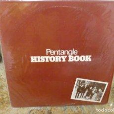 Discos de vinilo: CAJJ146 LP PENTANGLE HISTORY BOOK UK 1972 MUY BUEN ESTADO, PEDAZO DISCO FOLK. Lote 294497943