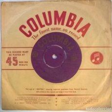 Discos de vinilo: THE BIG BEN ACCORDION BAND. ROCK 'N' ROLL NO 1: ROCK ARROUND THE CLOCK/ BLUE SUEDE SHOES +4. UK 1956. Lote 294498378