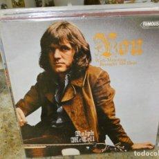 Discos de vinilo: CAJJ146 LP UK 71 MUY BUEN ESTADO RALPH MC TELL YOU WELL MEANING BROUGHT ME HERE BUEN ESTADO. Lote 294499293