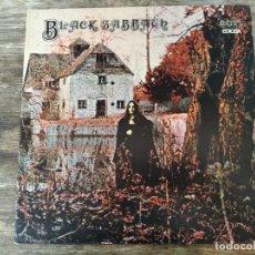 Discos de vinilo: BLACK SABBATH - M/T **** LP SEGUNDA EDICIÓN ESPAÑOL PORTADA DOBLE 1981 GRAN ESTADO. Lote 294499433