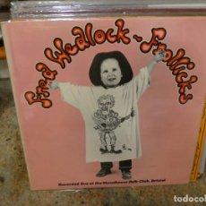 Discos de vinilo: CAJJ146 LP FRED HEADLOCK FROLLICKS UK CIRCA 19075 BUEN ESTADO FOLK. Lote 294499798