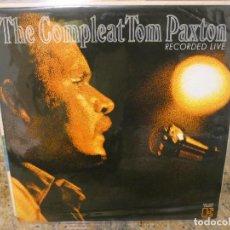 Discos de vinilo: CAJJ146 DOBLE LP THE COMPLETE TOM PAXTON RECORDED LIVE ELEKTRA CIRCA 1972 BUEN ESTADO. Lote 294500188