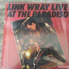 Discos de vinilo: LINK WRAY - LIVE AT THE PARADISO AMSTERDAM ********* REEDICIÓN ALEMANA VINILO BLANCO. Lote 294501153