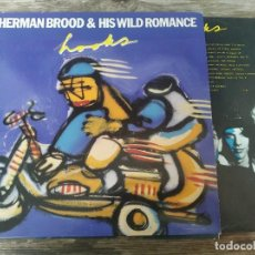 Discos de vinilo: HERMAN BROOD & HIS WILD ROMANCE - HOOKS ********* LP ESPAÑOL 1989. Lote 294501523