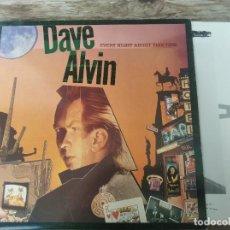 Discos de vinilo: DAVE ALVIN - EVERY NIGHT ABOUT THIS TIME ********* LP UK DEMON 1987 BUEN ESTADO. Lote 294502063