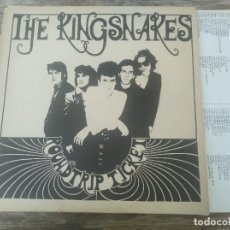 Discos de vinilo: THE KINGSNAKES - ROUNDTRIP TICKET ********* LP ESPAÑOL 1986 BUEN ESTADO. Lote 294502173