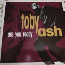 """Discos de vinilo: TOBY ASH – ARE YOU READY.1991.MACHO RECORDS – MACHO 91.01 (12""""),NUEVO. MINT / VG++. Lote 294506228"""