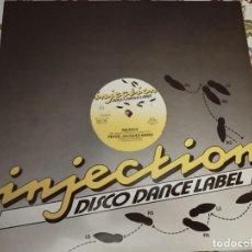 Discos de vinilo: PETER JACQUES BAND – MEXICO (REMIX) SELLO: INJECTION DISCO DANCE LABEL – 234.710.NUEVO. MINT / VG+. Lote 294506438