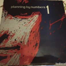 Discos de vinilo: PLANNING BY NUMBERS – 1: CATCH THE BEAT.1982. SELLO: HISPAVOX – S 90.587. (LP).NUEVO. MINT / VG+++. Lote 294506773