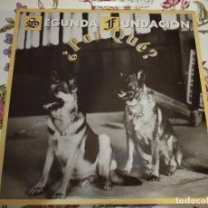 """Discos de vinilo: SEGUNDA FUNDACION* – ¿POR QUÉ? 1999.BOL RECORDS – BOL 60.20 (12"""") NUEVO. MINT / MINT. Lote 294507278"""