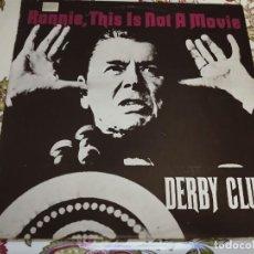 Discos de vinilo: DERBY CLUB – RONNIE, THIS IS NOT A MOVIE. 1987. SELLO: TELDEC – 20.1201,NUEVO. MINT / VG+. Lote 294508133