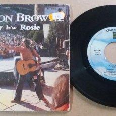 Discos de vinilo: JACKSON BROWNE / STAY / SINGLE 7 PULGADAS. Lote 294556453