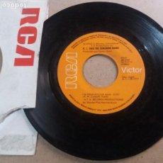 Discos de vinilo: K. C. & THE SUNSHINE BAND / I'M YOUR BOOGIE MAN / SINGLE 7 PULGADAS. Lote 294556823