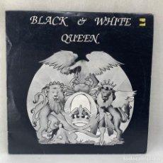 Discos de vinilo: LP - VINILO QUEEN - BLACK & WHITE - DISCO TRANSPARENTE - ALEMANIA - AÑO 1991. Lote 294563453