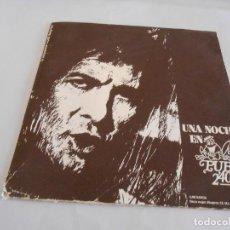 Discos de vinilo: LP. UNA NOCHE EN PUB 2´40. 1973, EMI ODEON. PROMOCIONAL. Lote 294570918