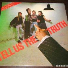 Discos de vinilo: SHAM 69 - TELL US THE TRUTH - LP POLYDOR 1978 - UK - EX!. Lote 294571813