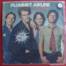 "Discos de vinilo: PLUMMET AIRLINE - IT'S HARD 7"" 1977 EDICION ESPAÑOLA PORTADA UNICA ETIQUETA PUNK ROCK -RARO. Lote 294572533"