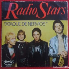 Discos de vinilo: RADIO STARS - NERVOUS WRECK - CHISWICK RECORDS -1977 EDICION ESPAÑOLA PORTADA UNICA. Lote 294574243