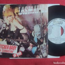 "Discos de vinilo: PLASMATICS - BUTCHER BABY 7"" 1980 **PROMO** SPAIN. Lote 294574643"