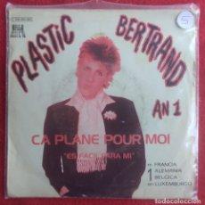 Discos de vinilo: PLASTIC BERTRAND -ÇA PLANE POUR MOI -7' 1977 EDICION ESPAÑOLA PORTADA UNICA. Lote 294575353