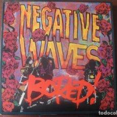 Discos de vinilo: L P BORED! NEGATIVE WAVES NUEVO PUNK HARDCORE AUSTRALIANO. Lote 294576583