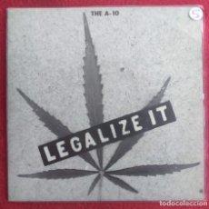 """Discos de vinilo: THE A-10 LEGALIZE IT 7"""" 1994 MUNSTER RECORDS PUNK HARDCORE. Lote 294576613"""