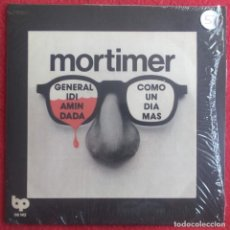 """Discos de vinilo: MORTIMER -GENERAL IDI AMIN DADA 7"""" REEDICION MUNSTER RECORDS PUNK ROCK BANDA TRAPERA. Lote 294576888"""