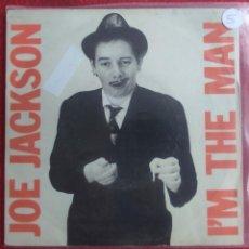 "Discos de vinilo: JOE JACKSON – I'M THE MAN 7"" 1979 ED ESPAÑOLA PROMOCIONAL ""WHITE LABEL"" VG VG+ 5€. Lote 294577438"