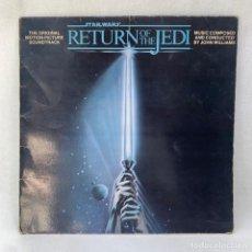 Discos de vinilo: LP - VINILO STAR WARS / RETURN OF THE JEDI - JOHN WILLIAMS - ESPAÑA - AÑO 1983. Lote 294578293