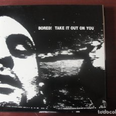 Discos de vinilo: L P BORED! TAKE IT OUT ON YOU COMO NIEVO PUNK AUSTRALIANO. Lote 294578353