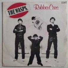 "Discos de vinilo: THE WASPS - RUBBER CARS 7"" 1979 RARA EDICION FRANCESA PUNK POWER POP. Lote 294580448"