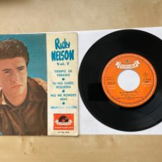 "Discos de vinilo: RICKY NELSON - TIEMPO DE VERANO +3 (EP) - SINGLE 7"" SPAIN 1962. Lote 294816563"