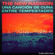 Discos de vinilo: LP THE NEW RAEMON UNA CANCION DE CUNA ENTRE TEMPESTADES VINILO AZUL. Lote 294820093