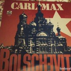 "Discos de vinilo: CARL MAX - BOLSCHEVITA. 1987. (12"", MAXI) SPLASH RECORDS CAT. N.º: MX-1028.NUEVO.MINT / NEAR MINT. Lote 294821893"