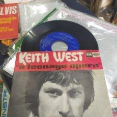 Discos de vinilo: KEITH WEST SINGLE PROMOCIONAL A TEENAGE OPERA ESPAÑA 1967 EN MUY BUEN ESTADO. Lote 294822083