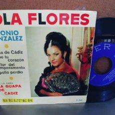 Discos de vinilo: LOLA FLORES-EP GLORIA DE CADIZ +3. Lote 294823463