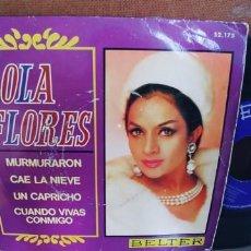 Discos de vinilo: LOLA FLORES-EP MURMURARON +3. Lote 294824253