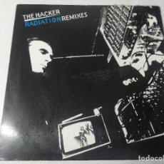 Discos de vinilo: THE HACKER/RADIATON REMIXES.. Lote 294827828