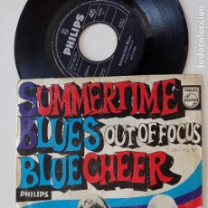 Discos de vinilo: BLUE CHEER - SUMERTIME BLUES - SINGLE PHILIPS ALEMANIA 1968. Lote 294832463