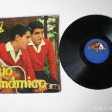 Disques de vinyle: DUO DINAMICO - PRIMER LP - LA VOZ DE SU AMO LCLP 178 - ESPAÑA 1961. Lote 294842133