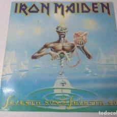 Discos de vinilo: IRON MAIDEN/SEVENTH SON OF A SEVENTH SON/VINILO METAL.. Lote 294846843