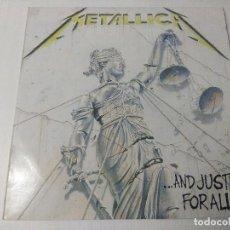 Discos de vinilo: METALLICA/...AND JUSTICE FOR ALL/VINILO METAL DOBLE.. Lote 294847468